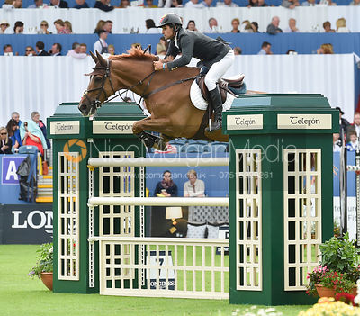 Manuel Saro Fernandez and U WATCH - FEI Nations Cup, Dublin Horse Show 2017