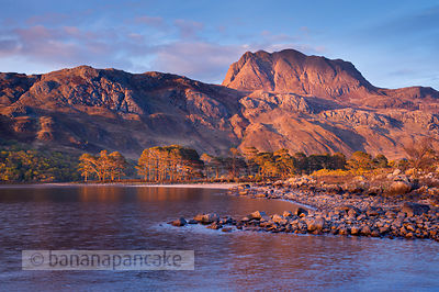 BP3124 - Slioch, from Loch Maree