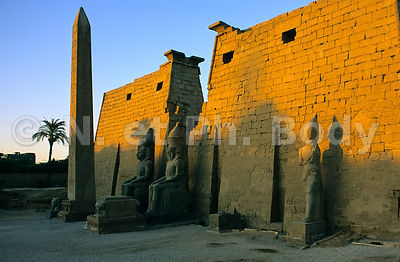 TEMPLE DE LOUXOR, LOUXOR, EGYPTE//TEMPLE OF LUXOR, LUXOR, EGYPT