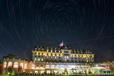 The ISS flying over the Imperial Palace - Annecy