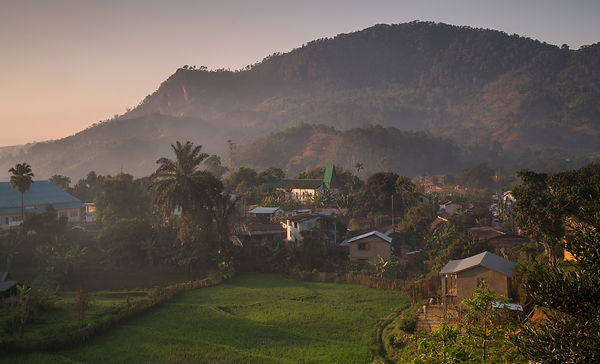Sunrise over Ranomafana Village