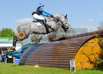 Tiana Coudray and RINGWOOD MAGISTER - Cross Country - Mitsubishi Motors Badminton Horse Trials 2013.