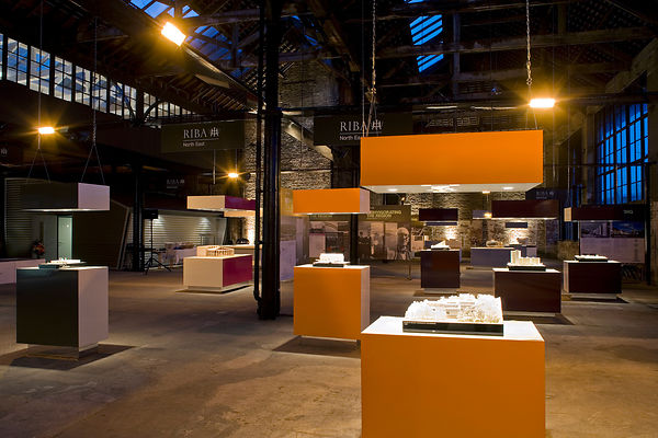 RIBA exhibition at Stephenson Works