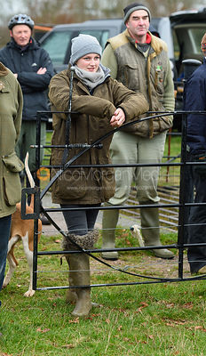 Hermione Brooksbank At the meet. The Cottesmore Hunt at Bleak House 18/12