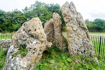Whispering Knights, Rollright Stones- Near Long Compton, England
