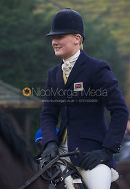 Gaby Cooke - The Cottesmore Hunt at the Blue Ball 11/12