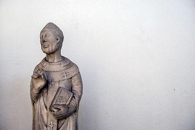 Detail Of Sculptures In The Museum Of Saint Agostina