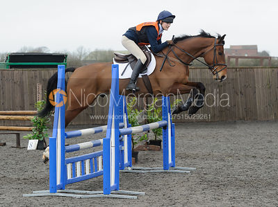 Isobel McEuen - Class 4 - CHPC Eventer Trial, April 2015.