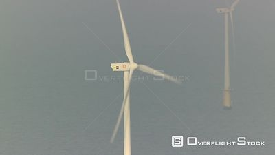 Coastal Wind Turbines Netherlands