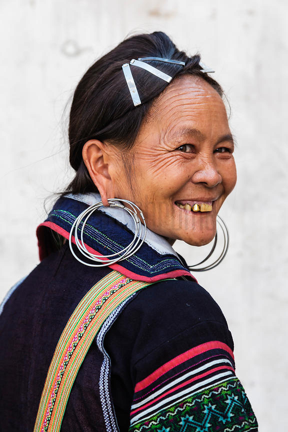 Women from Black Hmong Tribe