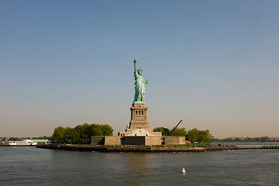 Statue de la liberté, Liberty Island, New York, USA / Statue of Liberty, Liberty Island, New York, USA