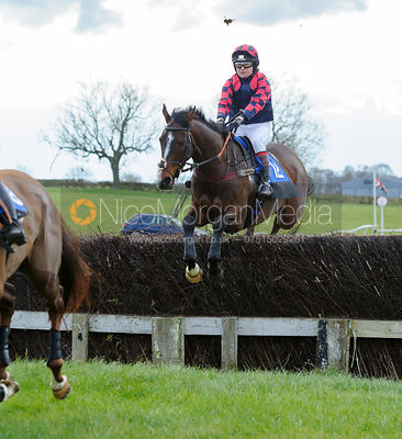 Race 4 - Ladies Open - Cottesmore Point-To-Point, Garthorpe, 28/2