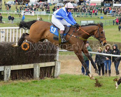 The Open Ditch - Novice Riders - Cottesmore at Garthorpe