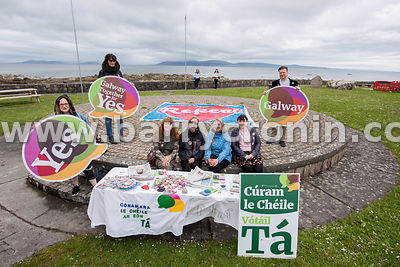NO REPRO FEES - 15th May, 2018. Pictured at An Spidéal, County Galway, Galway were volunteers and supporters.Orla O'Connor, C...