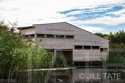 Gosforth Park Nature Reserve Bird Hide | Photographed For Natural History Society Of Northumbria & Kiosk