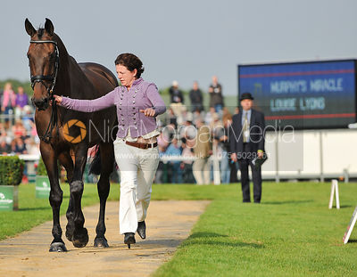 Louise Lyons and Murphy's Miracle - 2nd Inspection - Burghley 2010