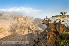 Wadi Ghul, Oman, Middle East