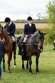 Frankie Fletcher at the meet. Quorn Hunt Opening Meet 2018