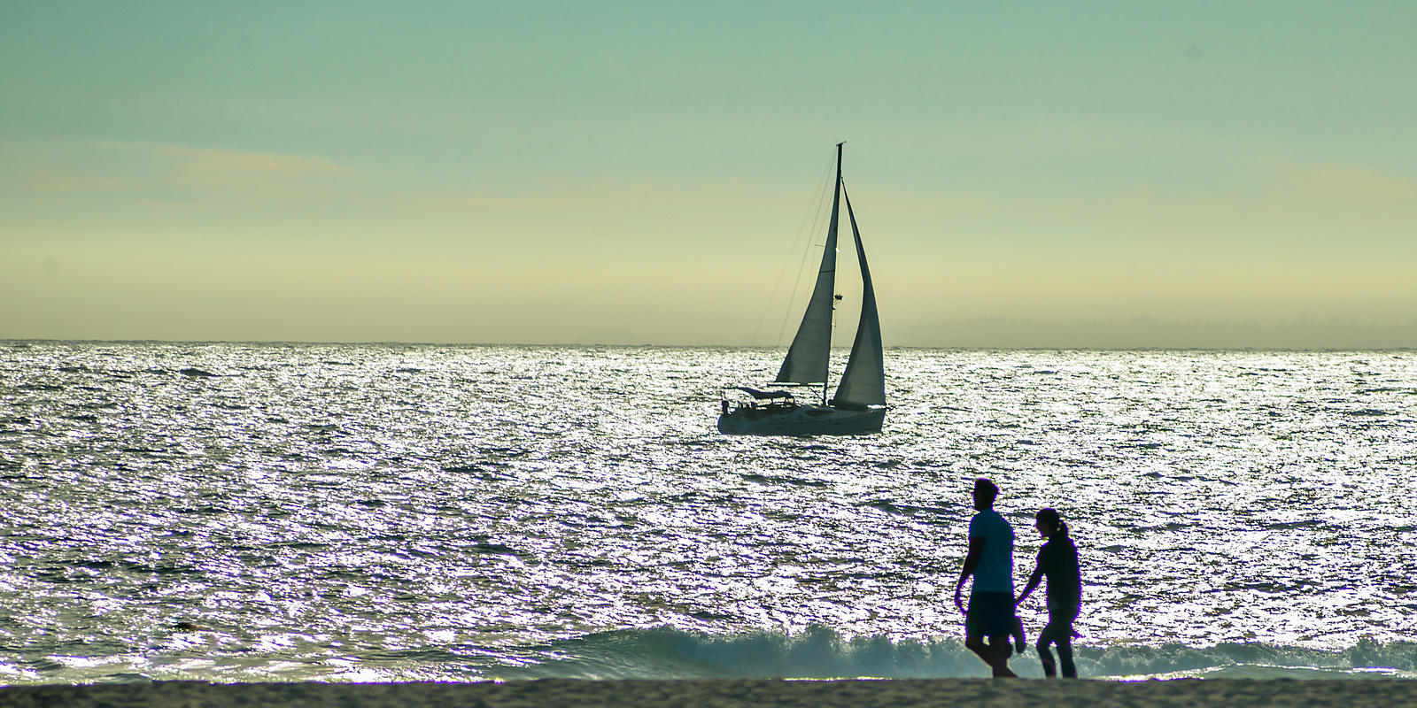 sailboat & silhouette 2