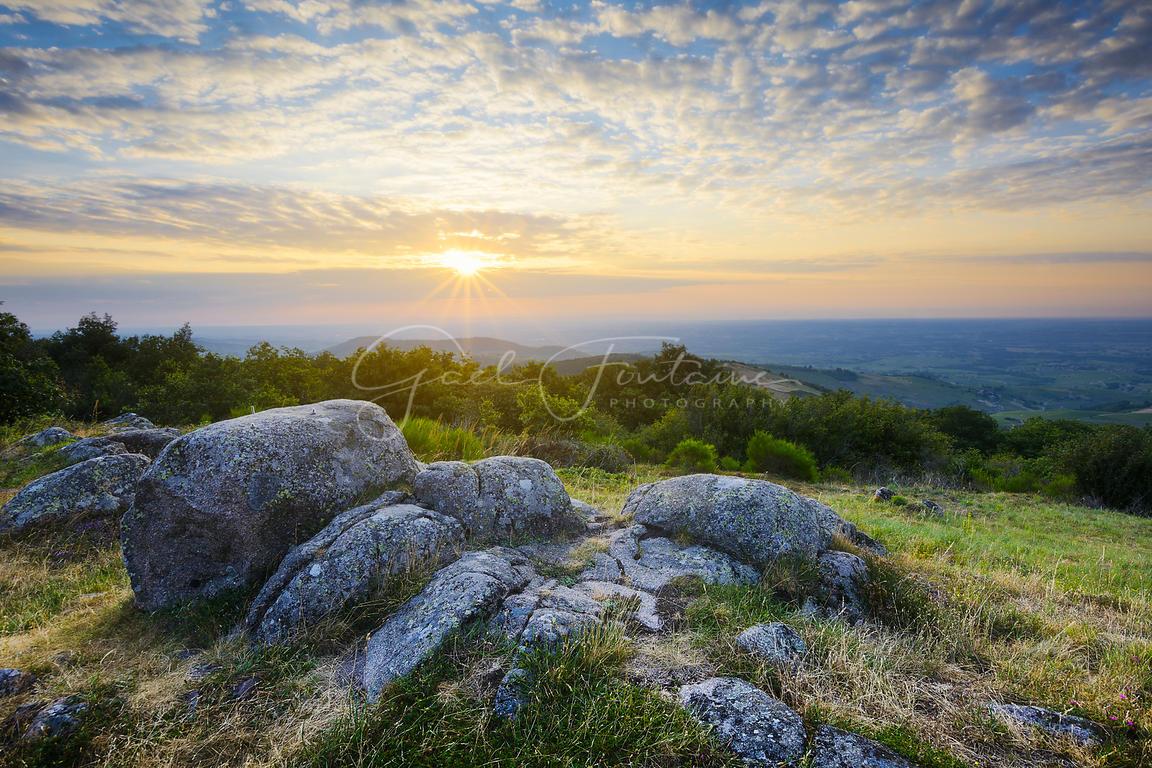 Photos Lever De Soleil Depuis La Terrasse De Chiroubles à