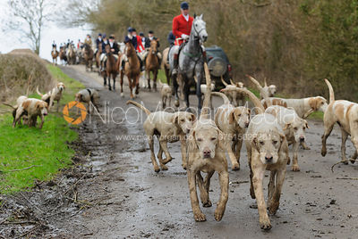 The Cottesmore Hunt at Bleak House 18/2