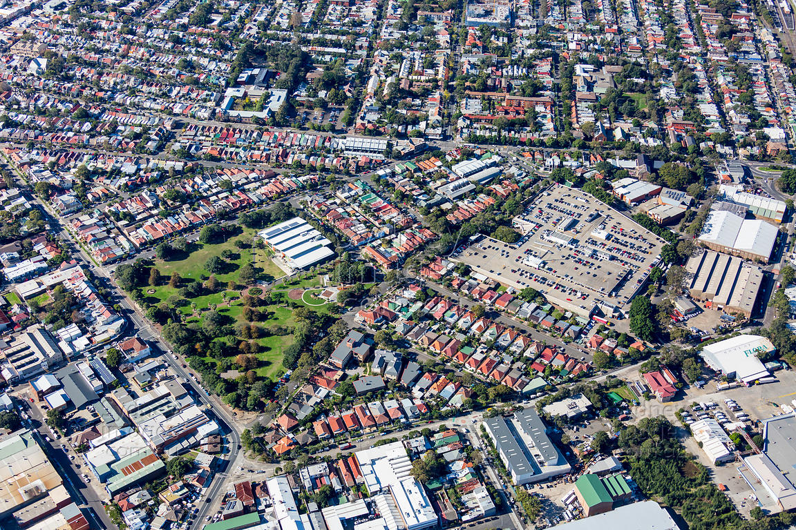 Enmore Park and Marrickville Metro