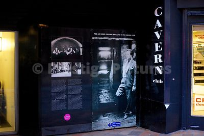 The Original Entrance to The World Famous Cavern Club