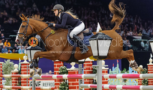 Chloe Aston and Tripoli, Horse of the Year Show 2010