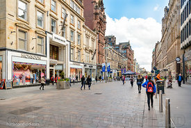 Buchanan Street shops