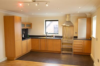 Open Plan Apartment Kitchen