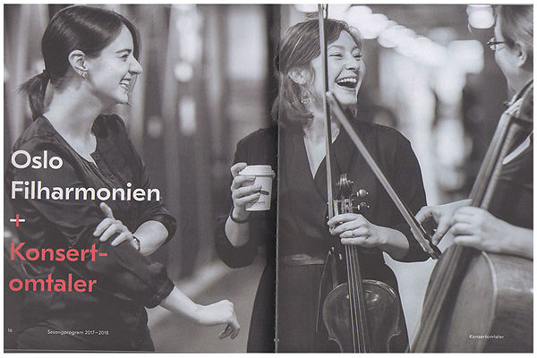 FOTO FOR OSLO FILHARMONIEN