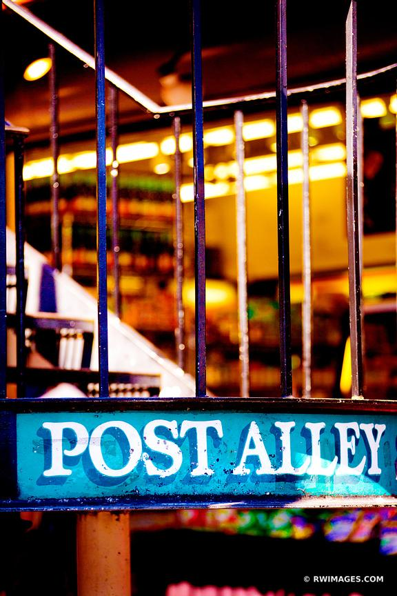 POST ALLEY PIKE PLACE SEATTLE