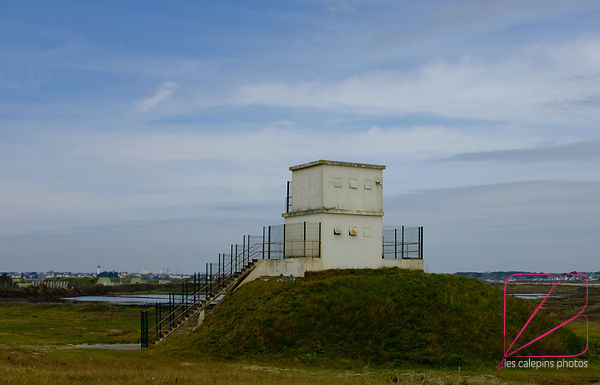 Watchtower on the Gâvres coast
