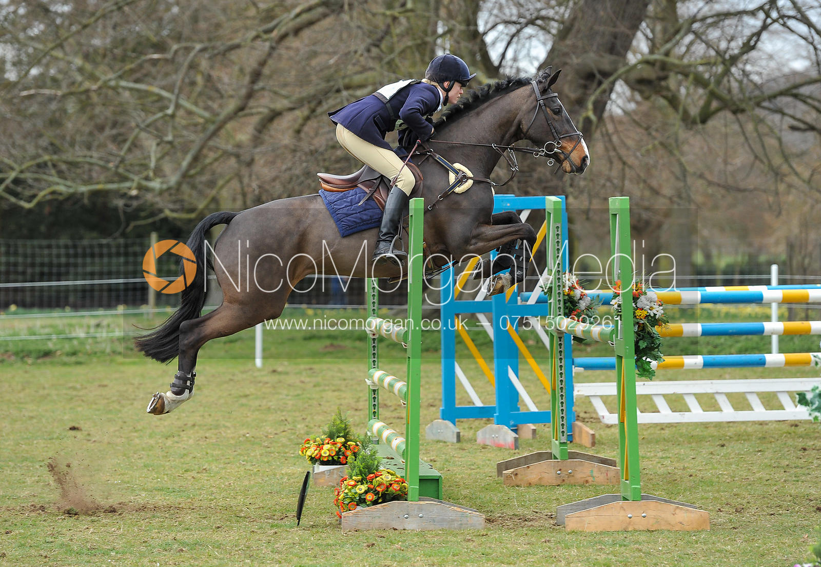Caroline Edwards and APAPA - Belton Horse Trials