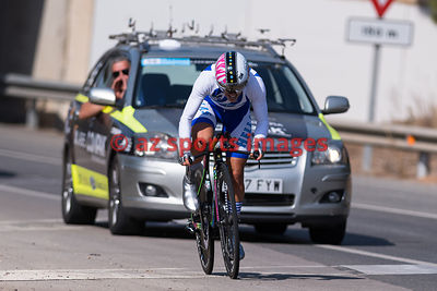 Women's Individual time trial Final / FASOI Varvara (GRE)