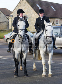 The Cottesmore Hunt at Cottesmore - 12/1/13