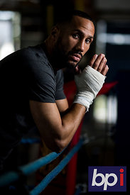 James Degale Media Day