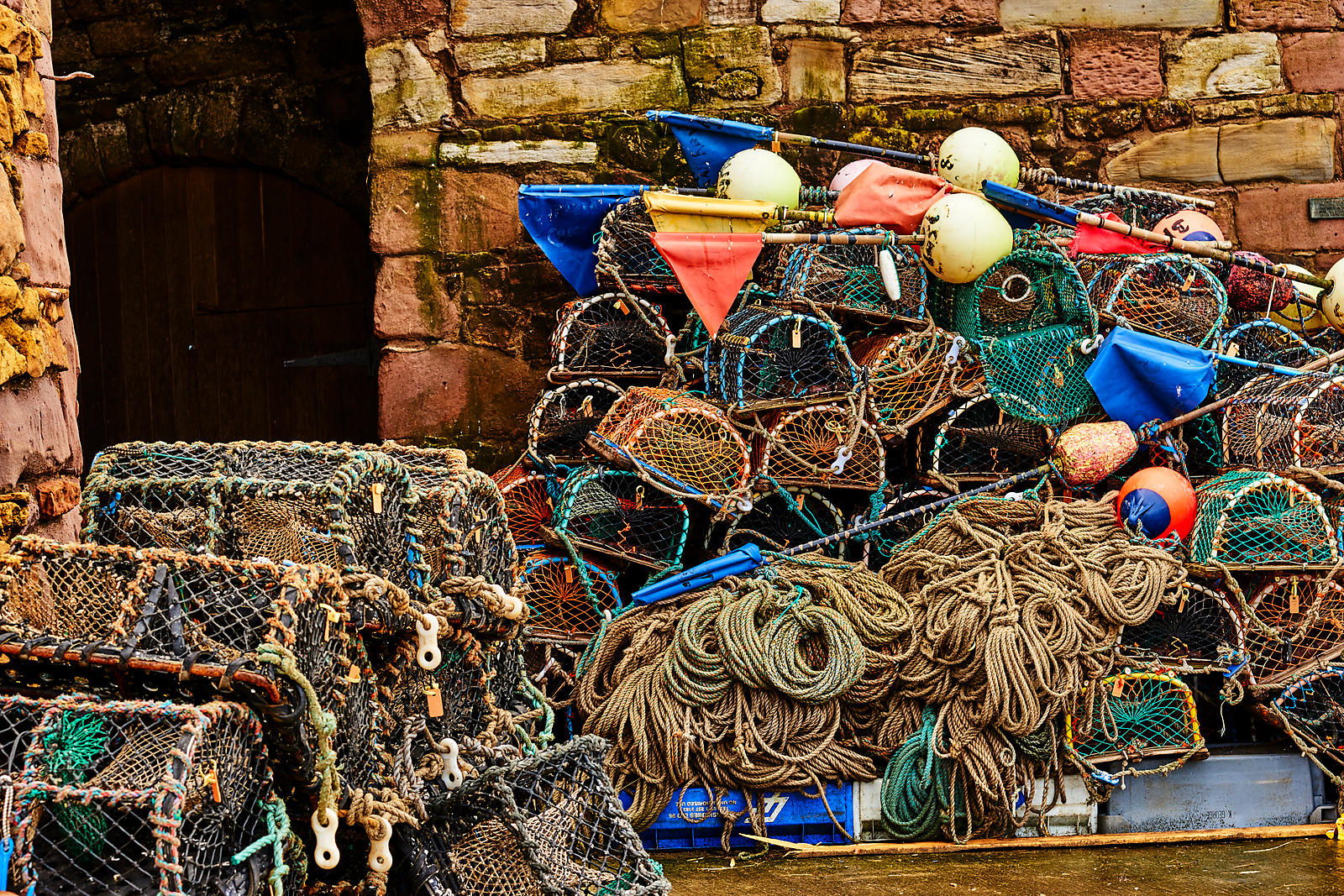 More lobster pots
