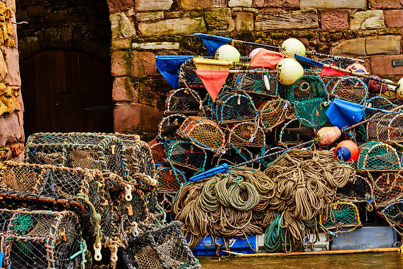 Metal wall art | Lobster pots