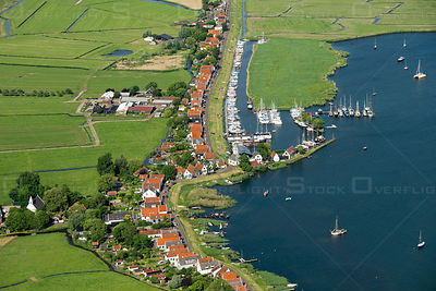 The protected village of Durgerdam is located on the Waterland Sea Dike near Amsterdam and lies on the Markermeer Netherlands