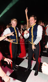 Rupert Hunt-Gonk, Simon Penrose. The Quorn Hunt Ball