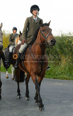 Sara Hercock - The Cottesmore Hunt at Furze Hil, Tuesday 29th August 2017.