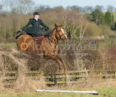 Bernard Weatherill Sidesaddle Chase 2013