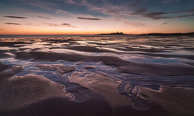 Pre-dawn light at Dunstanburgh