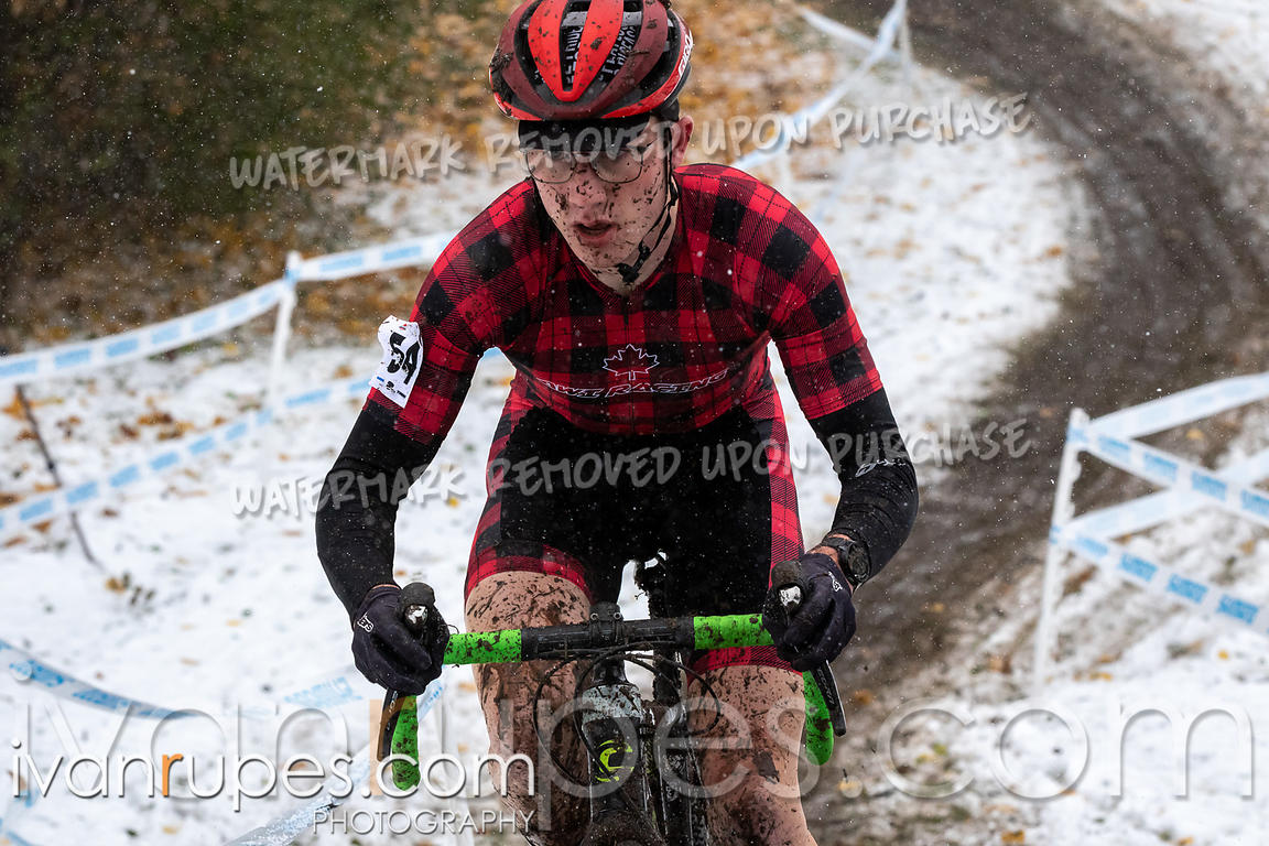 U23, Junior Men. 2018 Canadian Cyclocross Championships, November 10, 2018