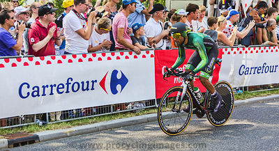 The Cyclist Yohann Gene - Tour de France 2015
