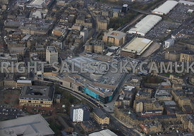 Bradford aerial photograph the Broadgate shopping centre