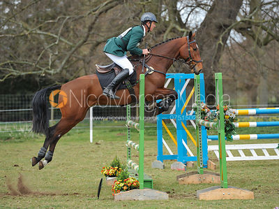 Jonty Evans and WINSTON III - Belton Horse Trials