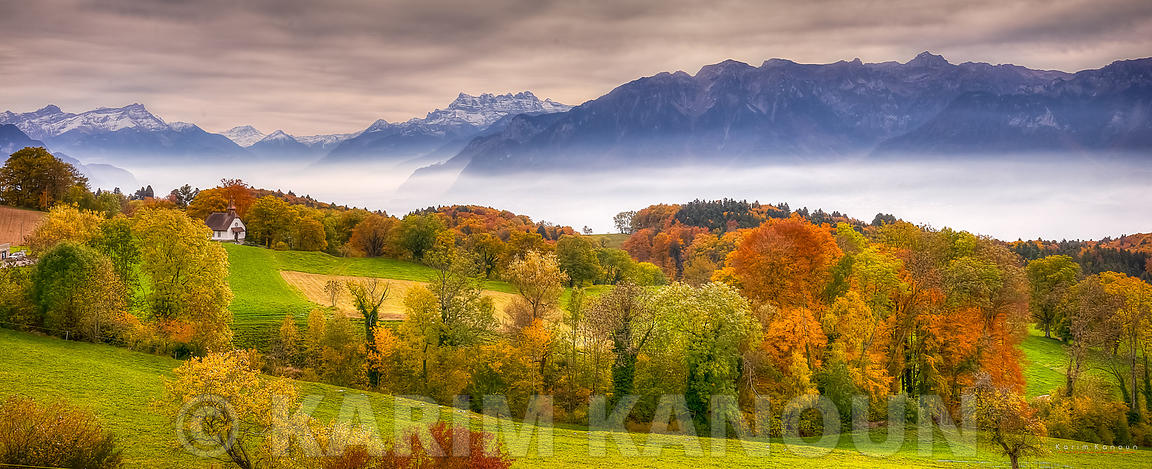 Switzerland - Vaud (Panoramas)