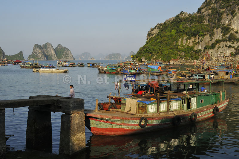 BAIE DE HA LONG, VIETNAM//Vietnam, Ha Long Bay,
